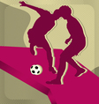 Sport background soccer vector