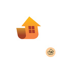Building house logo vector