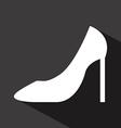 Shoes woman design vector