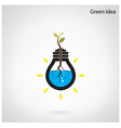 Green and initiative concept vector