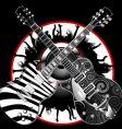 Guitar legends vector