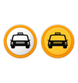 Taxi icons vector
