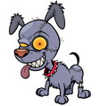 Dog zombie vector