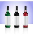 Wine bottles part 2 vector