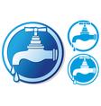 Water tap symbol vector