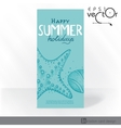 Party invitation card design template vector
