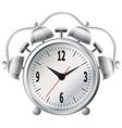 Old mechanical alarm clock vector