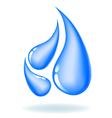 Drops of water vector