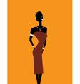 Girl africa2 vector