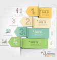 Business arrow infographics template vector