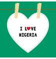 I love nigeria5 vector