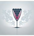 Glassofwine vector