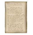 An old manuscript vector