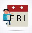 Fridayman vector