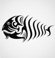 Tribal fish vector