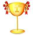 A cup trophy vector