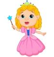 Cute fairy cartoon vector