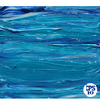 Oil painted blue background vector