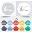 Change video call to simple call sign icon vector
