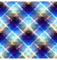 Diagonal geometric plaid vector