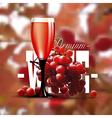 Premium wine background vector