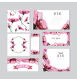 Floral cards vector