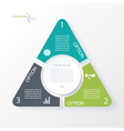 Business concept design with triangle vector