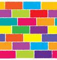 Colored wall vector