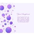 Scientific background with molecules vector