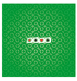Poker pattern vector