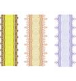 Pattern border vector