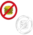 No gamburger vector