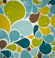 Colorful abstract retro pattern vector