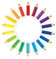 Pencil sun vector