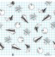 School seamless vector