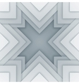Abstract white and gray triangle shapes background vector