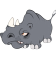 Rhinoceros cartoon vector