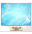 Abstract background marblefantastic landscape vector