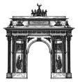 Germany logo design template berlin or vector