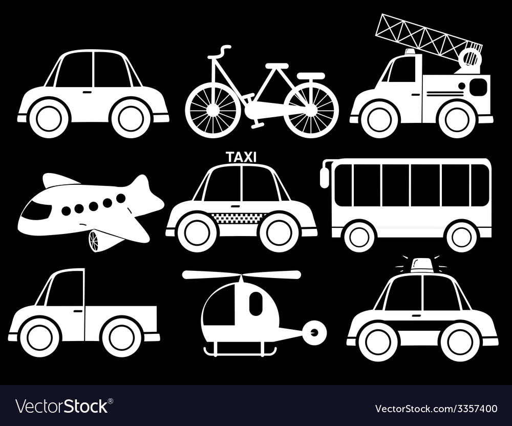 Different type of transportations vector | Price: 1 Credit (USD $1)