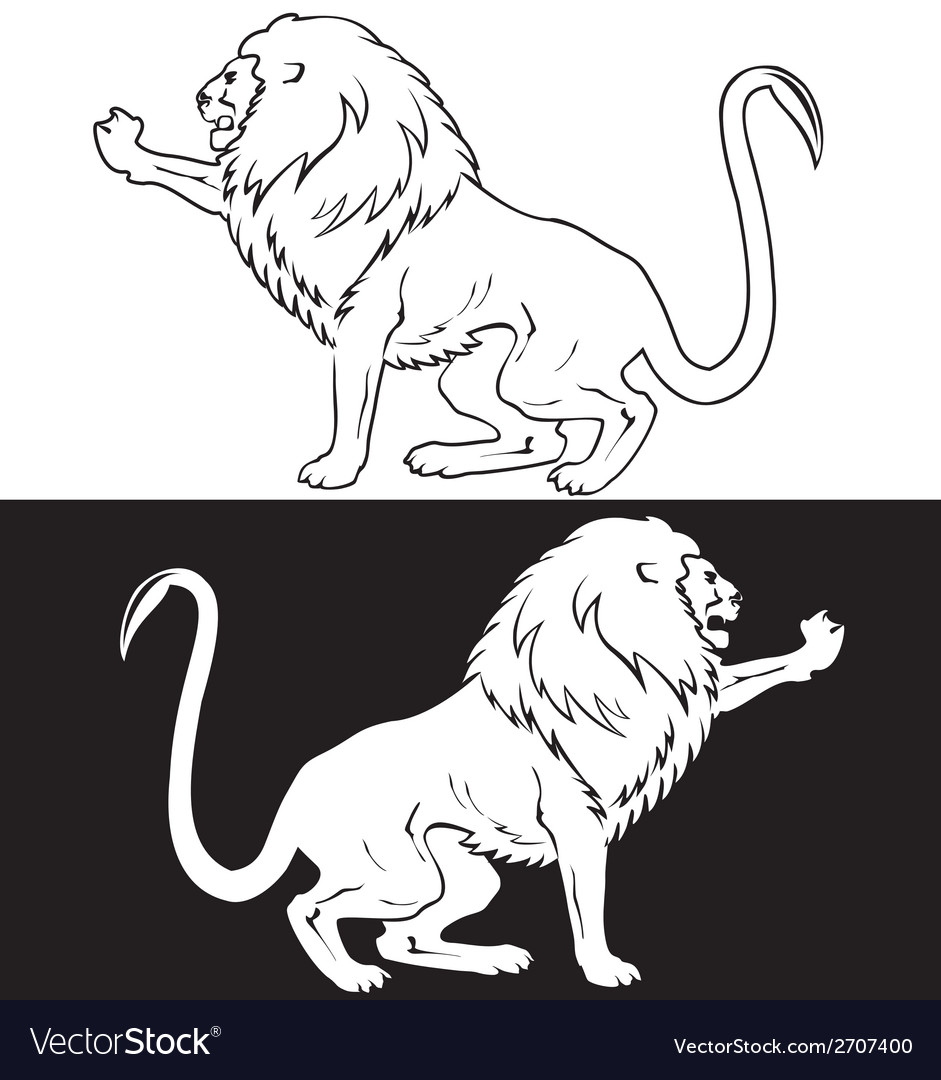 Lion4 vector | Price: 1 Credit (USD $1)