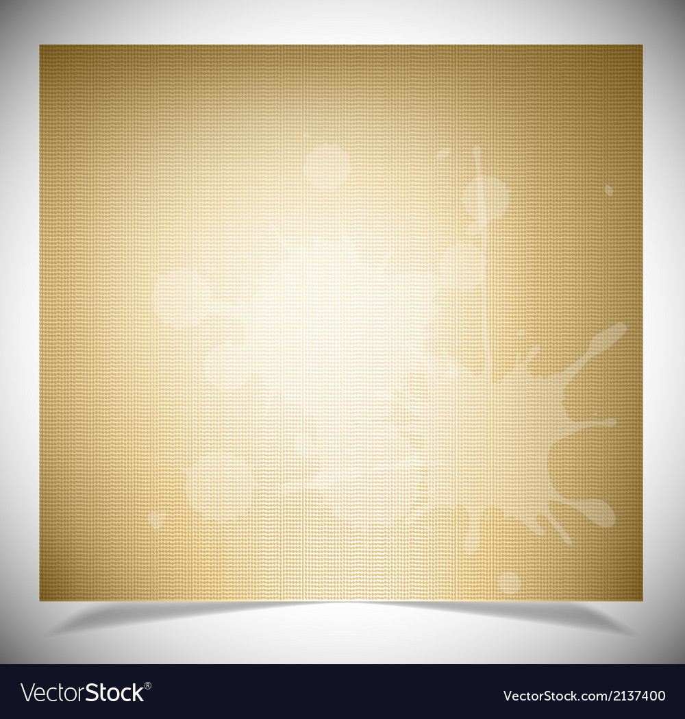Vintage paper texture for background vector | Price: 1 Credit (USD $1)