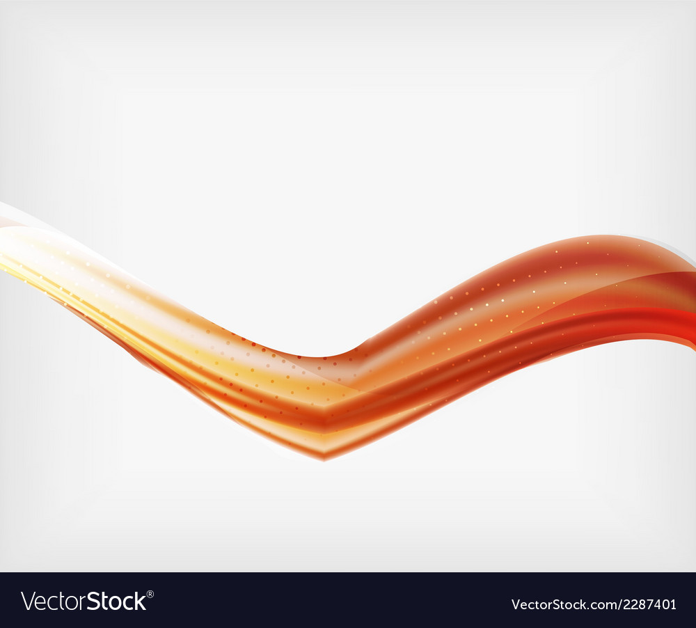 Abstract blurred waves in the air vector | Price: 1 Credit (USD $1)
