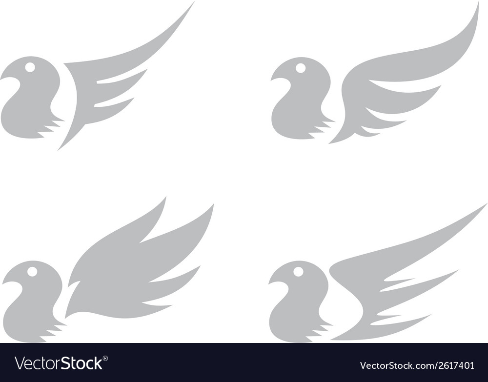 Bird logo vector | Price: 1 Credit (USD $1)