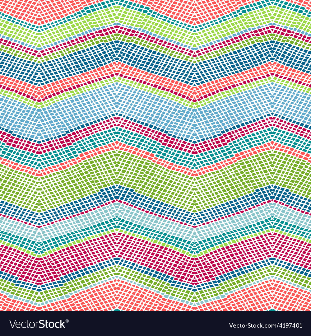 Seamless crochet pattern vector | Price: 1 Credit (USD $1)