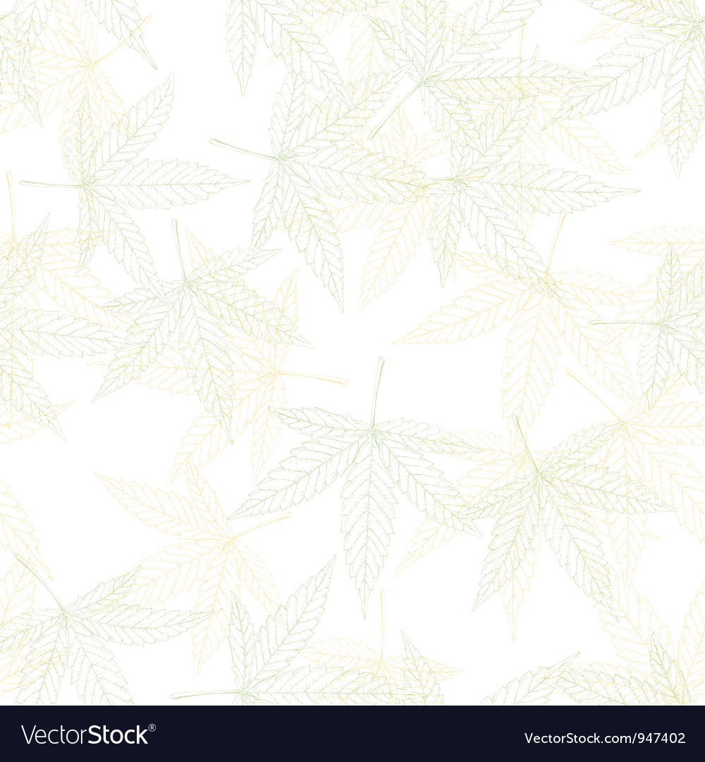 Hemp seamless pattern vector | Price: 1 Credit (USD $1)