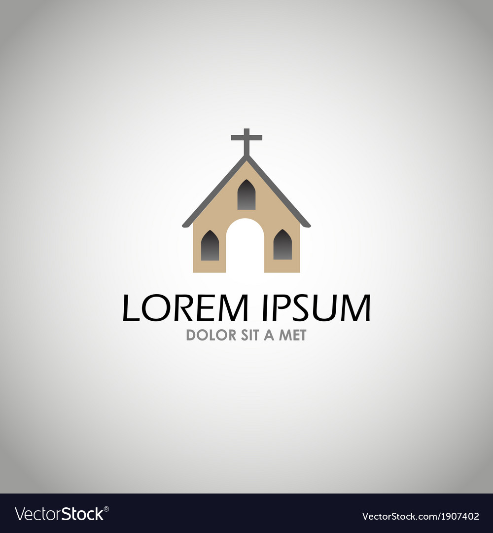 House church icon vector | Price: 1 Credit (USD $1)