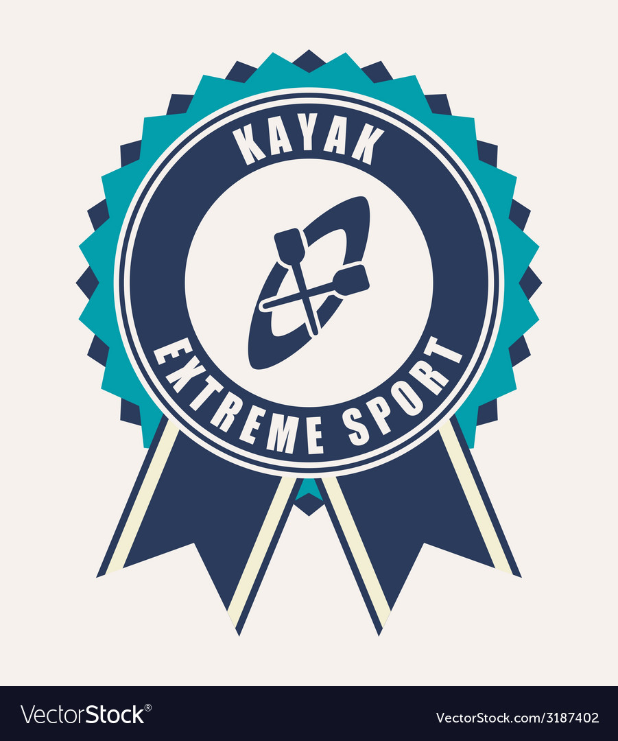 Kayak design vector | Price: 1 Credit (USD $1)