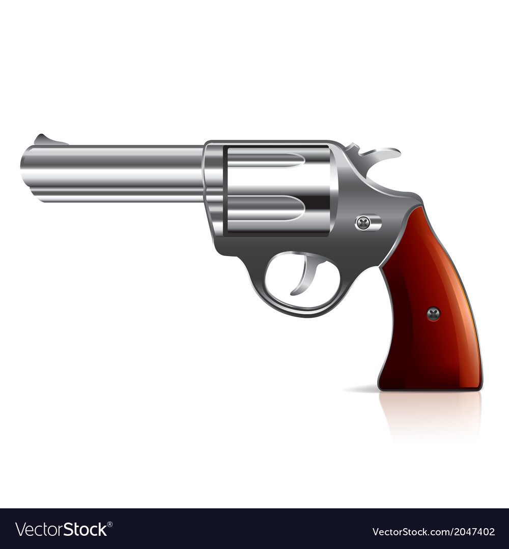 Object revolver vector | Price: 1 Credit (USD $1)