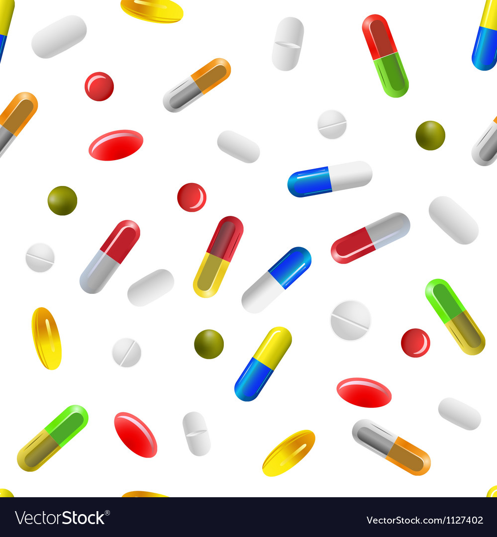 Pills background vector | Price: 1 Credit (USD $1)